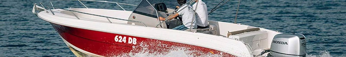 Atlantic Open 670 Speed boat for private excursion or charter in Dubrovnik