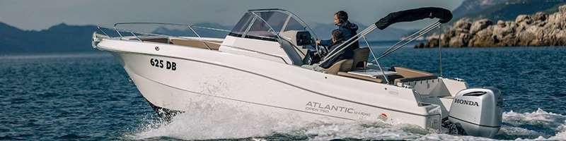 Open 750 Speed boat for private excursion or charter in Dubrovnik