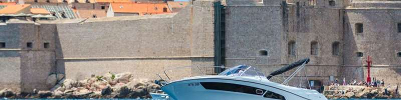 CC 9 WA Speed boat for private excursion or charter in Dubrovnik