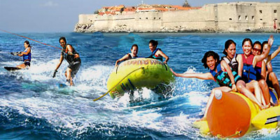 Private boat tour to visit best Dubrovnik beaches with water sports option