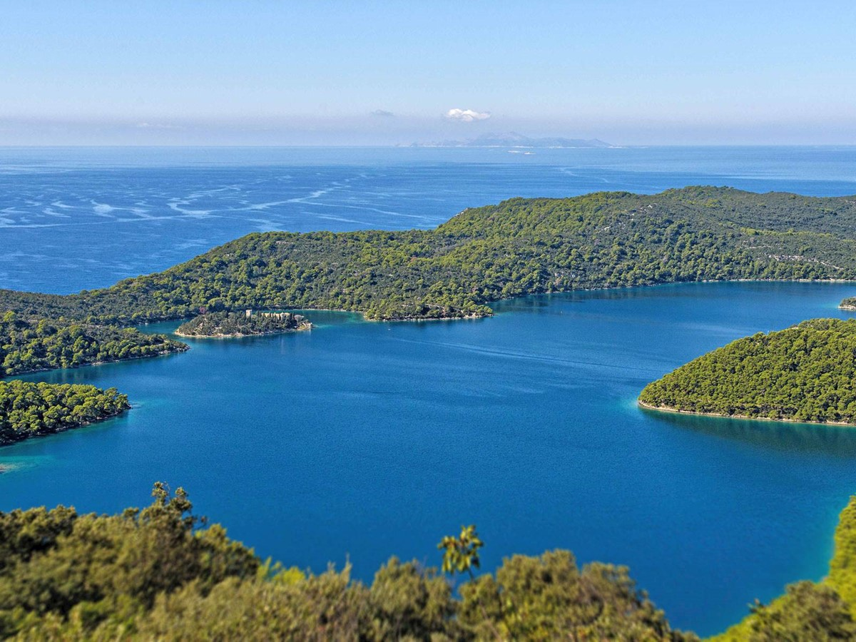 St. Mary island / National Park Mljet, Big Lake