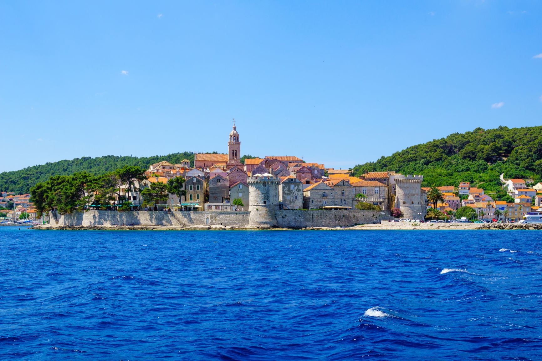 Private boat tour Dubrovnik to Island Korcula with option to stop on Elafiti islands