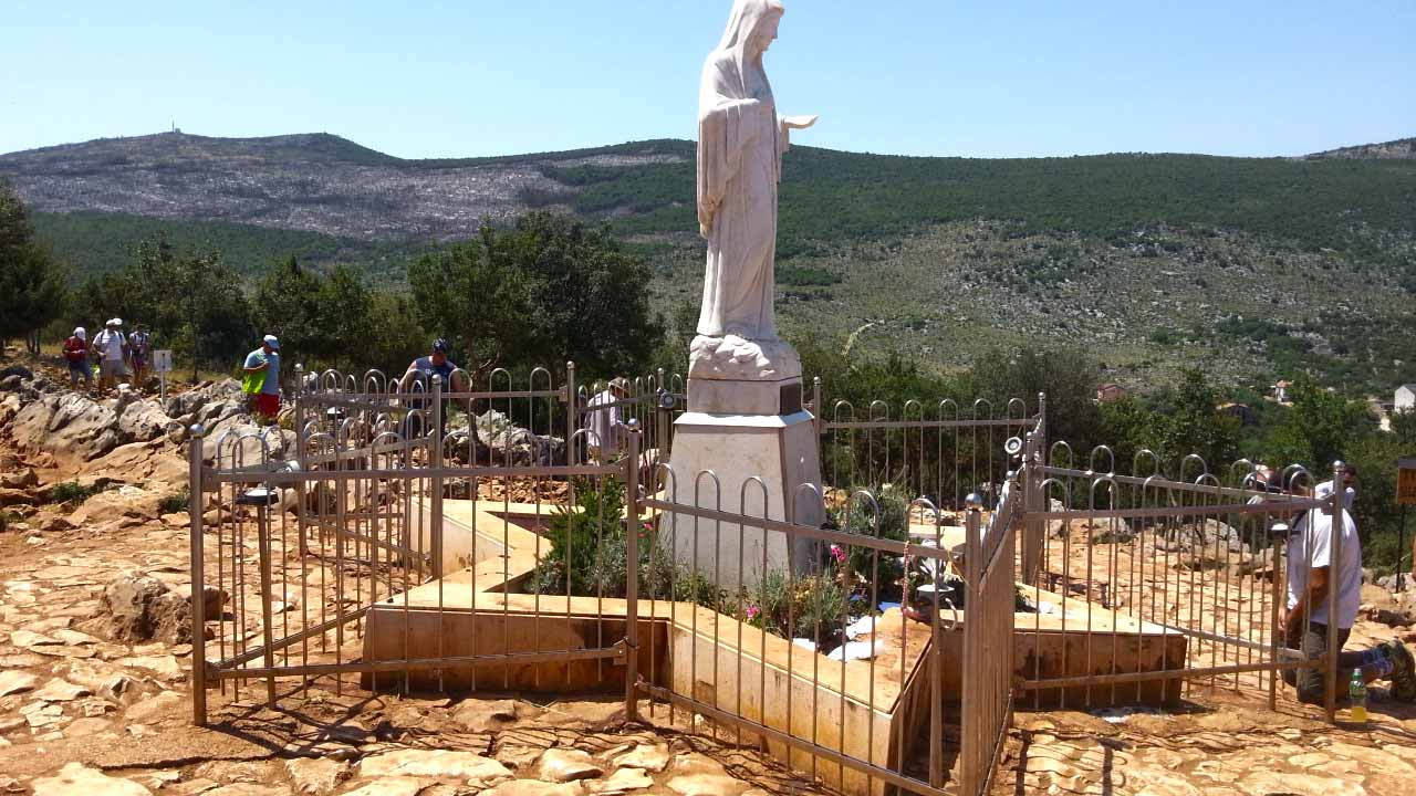 Visit Medjugorje, one of the most important Christian pilgrimage site in Europe