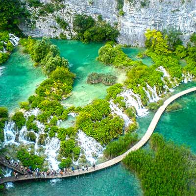 National park Plitvice - Shrine of nature