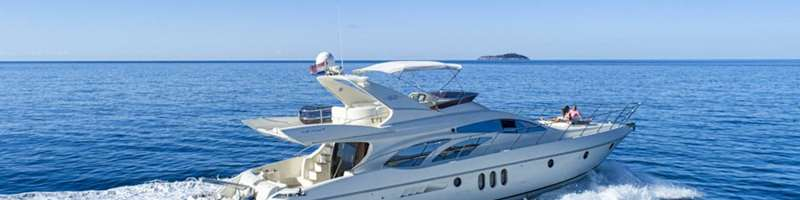 62 Fly Yacht for charter in Dubrovnik